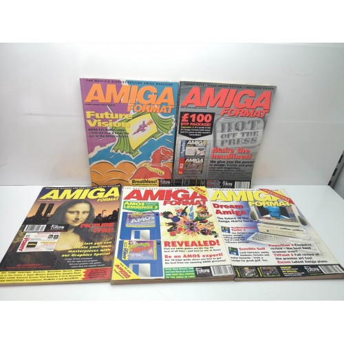 Pack Revistas Amiga Format