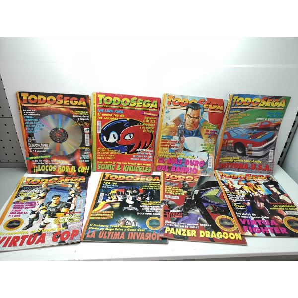 Pack Revistas TodoSega