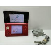 Consola Nintendo 3DS Roja con Cargador