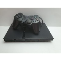 Consola PS2 Slim con mando NO LEE