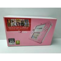 Consola Nintendo 2DS Rosa Pink En caja