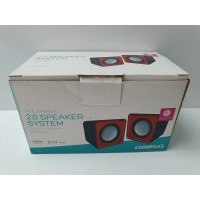 Altavoces Omega 2.0 Speaker System 6w USB Nuevo -1-