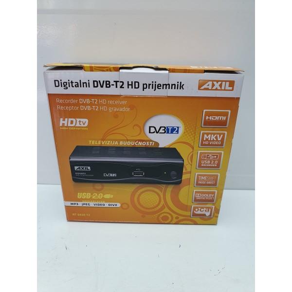 Sintonizador TDT Axil Scart HDMI USB Nuevo -2-