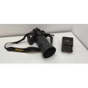 Camara Nikon D3100 + Ob 55-200